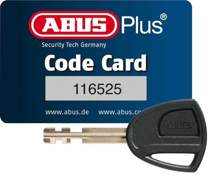 abus plus code card