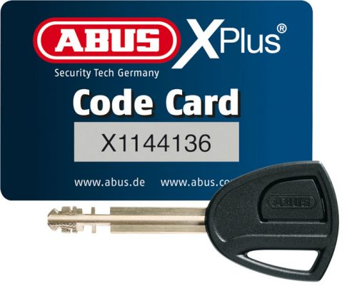 abus xplus code card